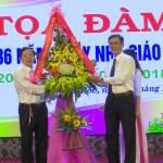 Thị xã Ba Đồn: Tọa đàm kỷ niệm 36 năm Ngày Nhà giáo Việt Nam 20-11